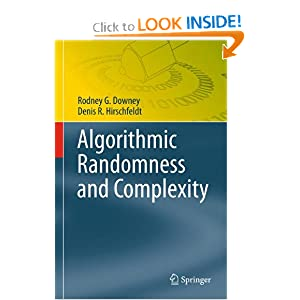 Amazon.com: Algorithmic Randomness and Complexity (Theory and ...