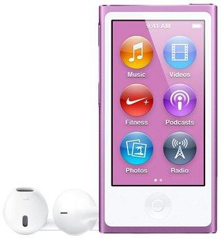 Apple iPod nano 16 Go Pourpre (7ème génération) Nouveau