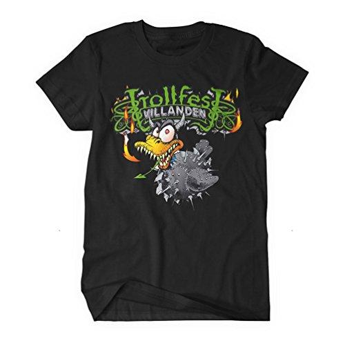 Trollfest - Top - Uomo nero XXXX-Large
