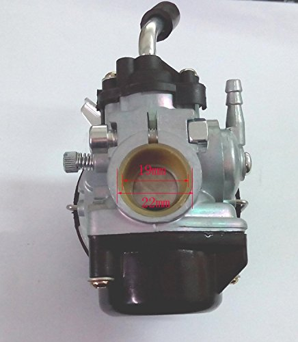 HIFROM(TM) High Performance Engine Carburetor Carb For Motorized Bicycle 2-Stroke 49cc 60cc 66cc 80cc (Motorized Bicycle Carburetor compare prices)