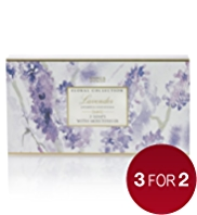 The Floral Collection Lavender Soaps Gift Set 75g