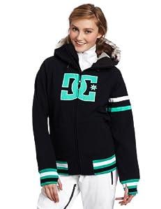 DC Women's Gamut Snowboard Jacket, Black, X-Small