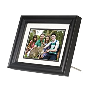HP DF730A1 7-Inch Digital Picture Frame with Double Mats (Black)
