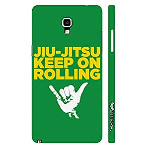 Samsung Note 3 Neo Keep Rolling designer mobile hard shell case by Enthopia