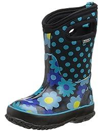 Bogs Kids Classic Flower Dot Waterproof Boot (Toddler/Little Kid/Big Kid)