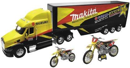 New Ray Toys Rockstar/Makita/Suzuki Chad Reed Gift Set CRGS