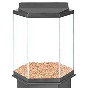 35 gallon hexagon black tank 23 x 20 x 24 for 35 gallon fish tank