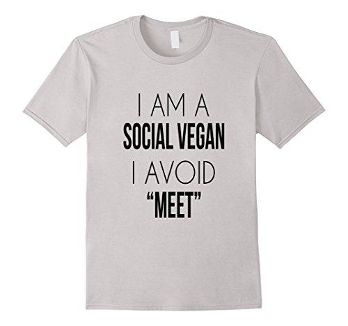 I'm A Social Vegan, I Avoid Meet Funny Introverts T-Shirt
