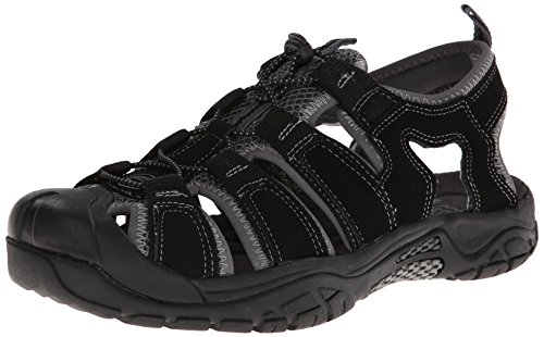 Skechers Men'S Journeyman Safaris Sandal,Black/Grey,8 M Us front-1013382