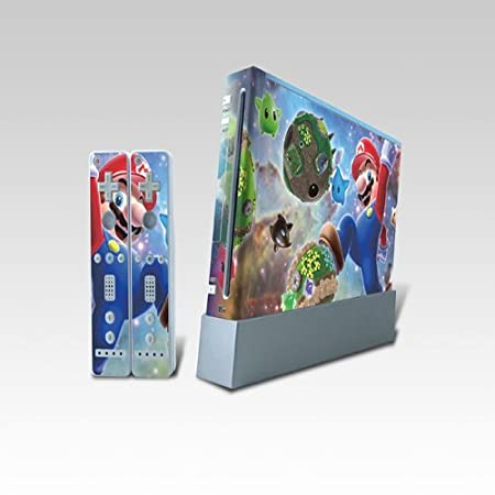 Mario Wii Dual Colored Skin Sticker,Wii0620-34