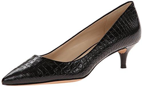 Nine West Women'S Illumie Crocco Dress Pump,Black/Black,8 M Us