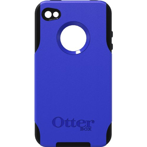 Otterbox 04-2006 Commuter Series Hybrid Case for iPhone 4 - 1 Pack - Case - Retail Packaging - Blue/Black