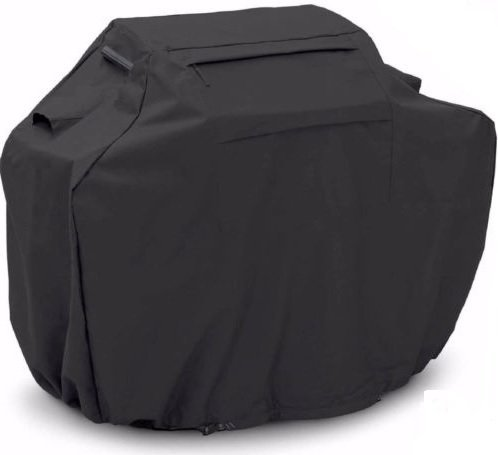 BBQ Gas Grill Cover Black 58