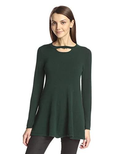 Cullen Women's Flared Keyhole Sweater