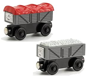 Thomas And Friends Wooden Railway - Giggling Troublesome Trucks