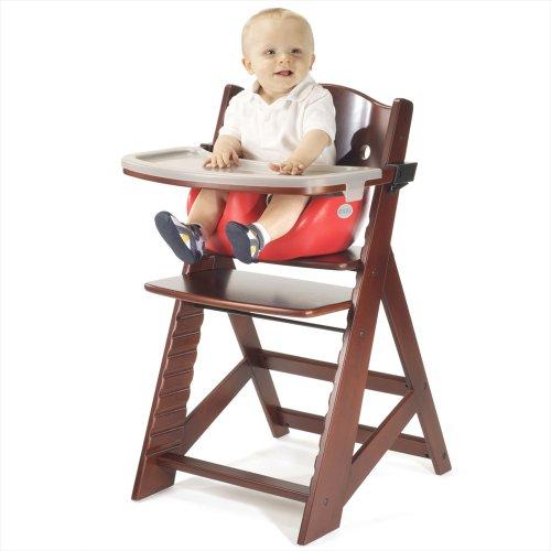 keekaroo 0051411kr 0001 h he rechten hochstuhl mahagoni mit kirsche neugeborenen einsatz und. Black Bedroom Furniture Sets. Home Design Ideas