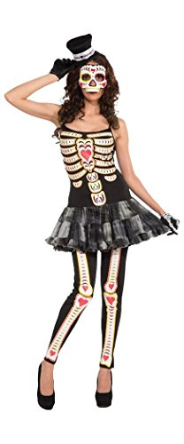 Day Of The Dead Female Costume