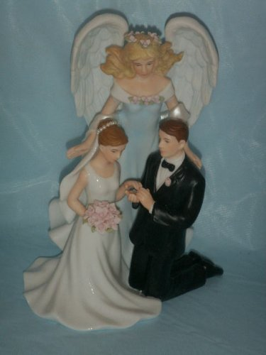 porcelain wedding cake toppers