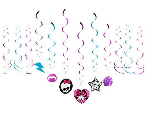 American Greetings Monster High Hanging Decorations (Party Supplies)