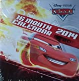 Disney Pixar Cars 2014 16 Month Square Wall Calendar