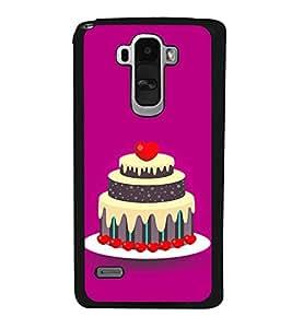 Cake Clipart 2D Hard Polycarbonate Designer Back Case Cover for LG G4 Stylus