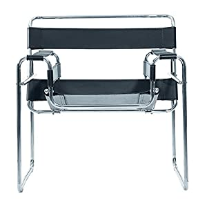 Wassily chair model b3 bauhaus by marcel for Chaise wassily