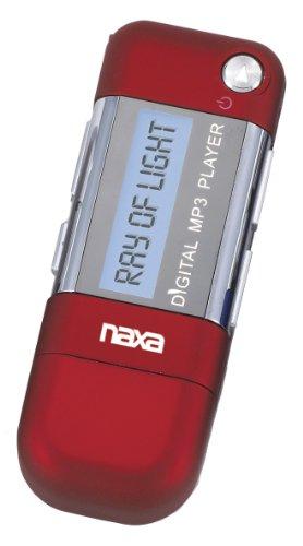Naxa Electronics Nm-145 4Gb Mp3 Player With Lcd Display, Red