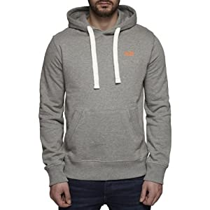 Jack & Jones Fast Sweat Hoodie Light Grey Melange - M (38-40in)