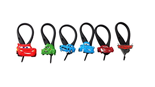 AVIRGO 6 pcs Soft Zipper Pull Charms for Backpack Bag Pendant Jacket Set # 23-3
