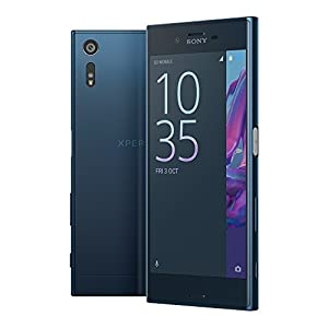 Sony Xperia XZ F8332 64GB 5.2-Inch 23MP 4G LTE Dual SIM FACTORY UNLOCKED International SIM フリー (FOREST BLUE)
