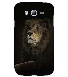 PRINTSHOPPII LION Back Case Cover for Samsung Galaxy Grand i9080:::Samsung Galaxy Grand i9082