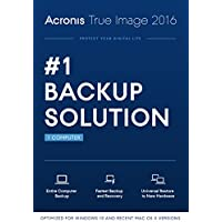 Acronis True Image 2016 Backup Software for 1 PC