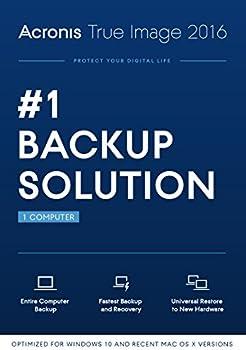Acronis True Image 2016 Backup Software Acronis True Image 2016