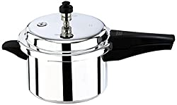 Butterfly Pressure Cooker with Weight Set and Gasket, 3 Litres, Silver