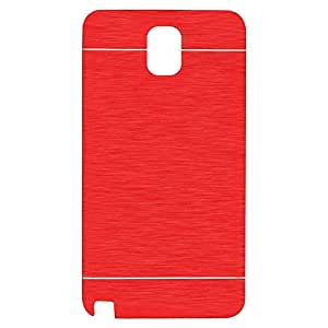 N3Pow'r Motomo Metal Mobile Back Cover or Hard Back Case for Samsung Galaxy S Duos S7562 - Red