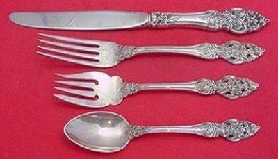 "REED /& BARTON VIENNA Sterling Silver 6-1//2/"" Salad Fork"