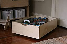 Birch Train Table Trundle Drawer