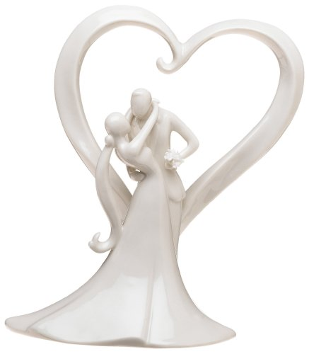 Weddingstar Stylish Embrace Cake Topper