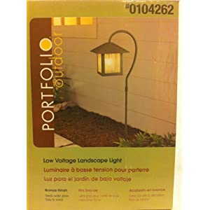 Click to buy Portfolio Outdoor Low Voltage Bronze Landscape Light from Amazon!