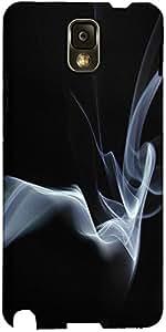 Snoogg Smoke 2 Texture Designer Protective Back Case Cover For Samsung Galaxy...