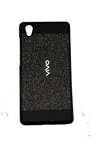 mobbysolTM Soft Back Glitter Back Case Cover For Vivo Y51L- Black