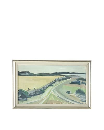 Landscape, 1959 Framed Artwork