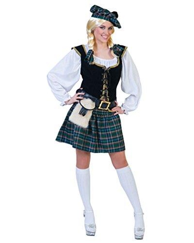 Pierro´s Kostüm Schottin Cameron Damenkostüm Frauenkostüm Komplettkostüm Größe 44/46 für Karneval, Fasching, Party
