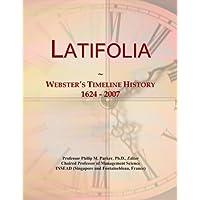 Latifolia: Webster's Timeline History, 1624 - 2007