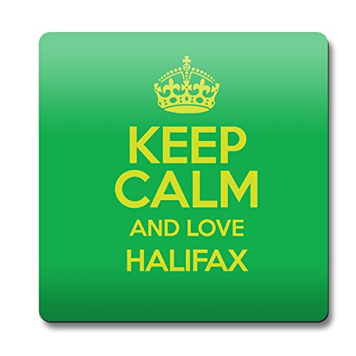 Green Keep Calm And Love Halifax Magnete colore 0298