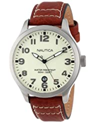 Nautica Mens N09560G Cream Watch