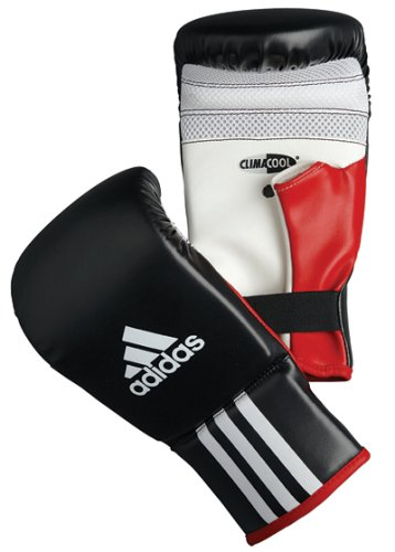 Adidas Response Bag Gloves - Black/White/Red - S/M