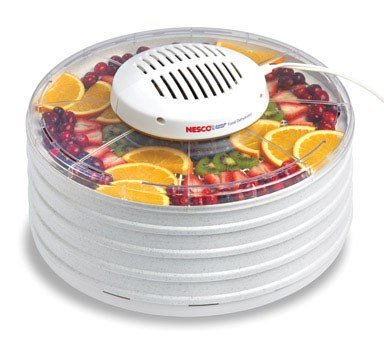 Nesco Food Dehydrator 425 W 4 Trays from Metal Ware Corporation The