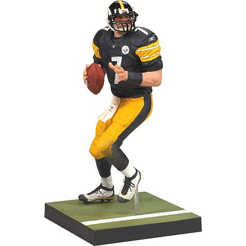 McFarlane Toys NFL Sports Picks Series 20 2009 Wave 1 Action Figure Ben Roethlisberger (Pittsburgh Steelers)