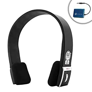 gogroove bluetooth tv headphones wireless connection system for hd televisions by. Black Bedroom Furniture Sets. Home Design Ideas